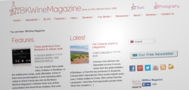 BK Wine Magazine
