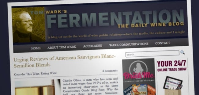 Fermentation Wine Blog