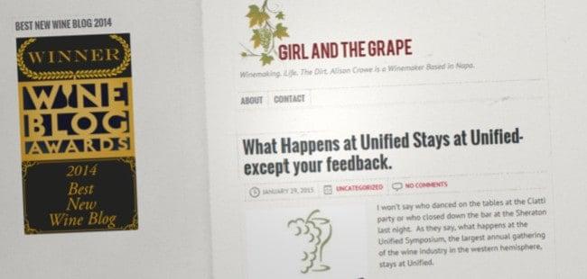Girl and the Grape