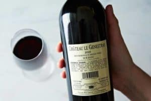 how to read a wine label