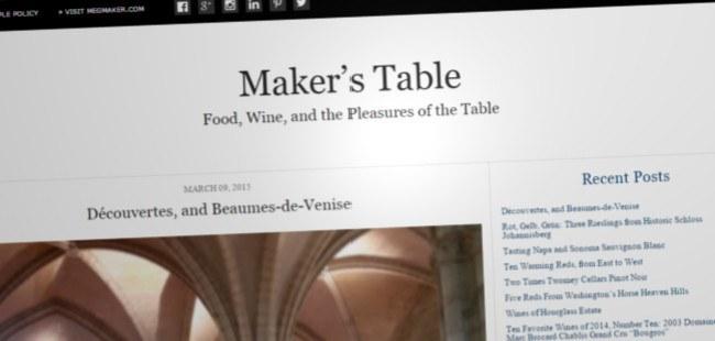 Maker's Table
