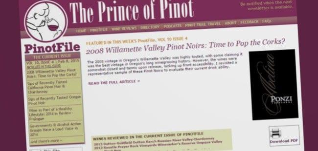 Prince of Pinot