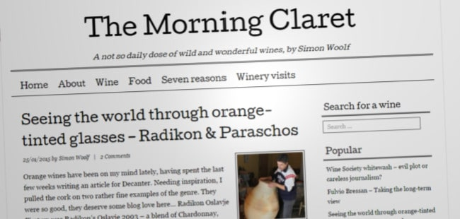 The Morning Claret