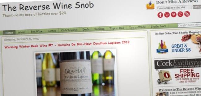 The Reverse Wine Snob