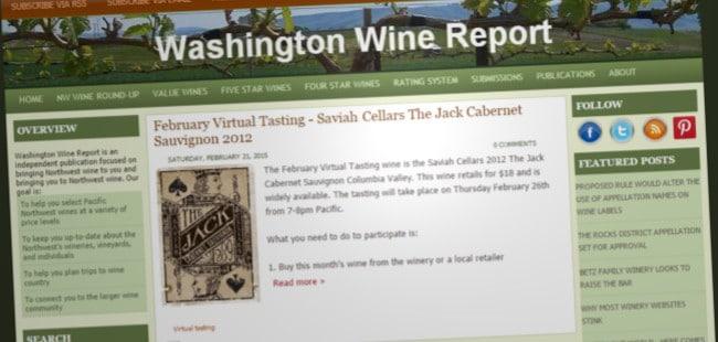 Washington Wine Report
