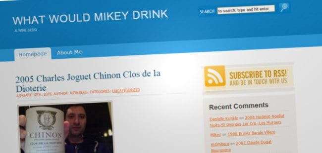 What Would Mikey Drink