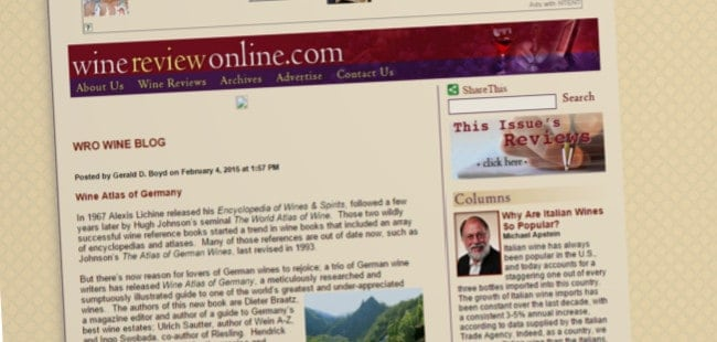 Wine Review Online