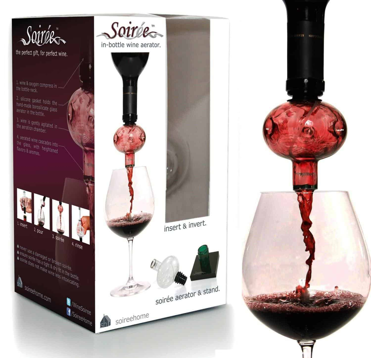 Soiree wine aerator review
