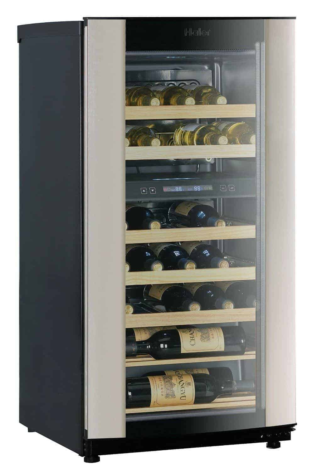 Haier 40 Bottle Wine Fridge