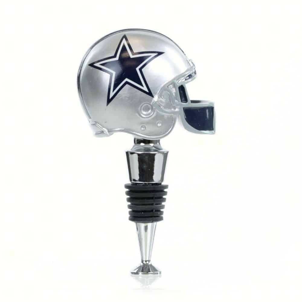NFL Football Helmet Wine Stopper