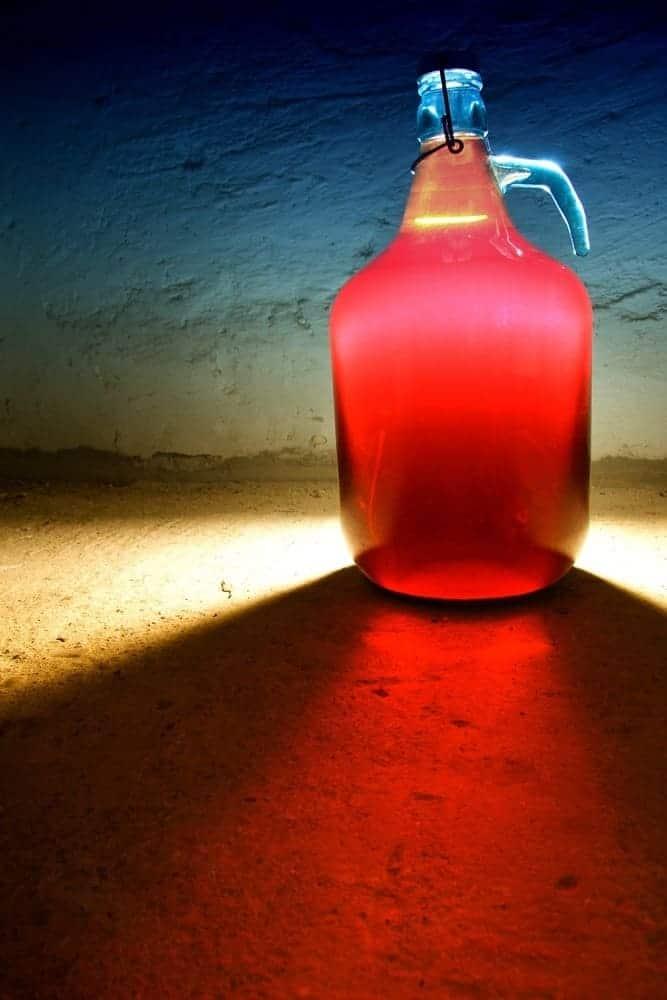 Demijohn bottle