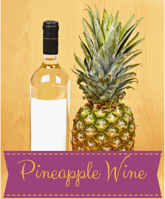 Pineapple wine recipe
