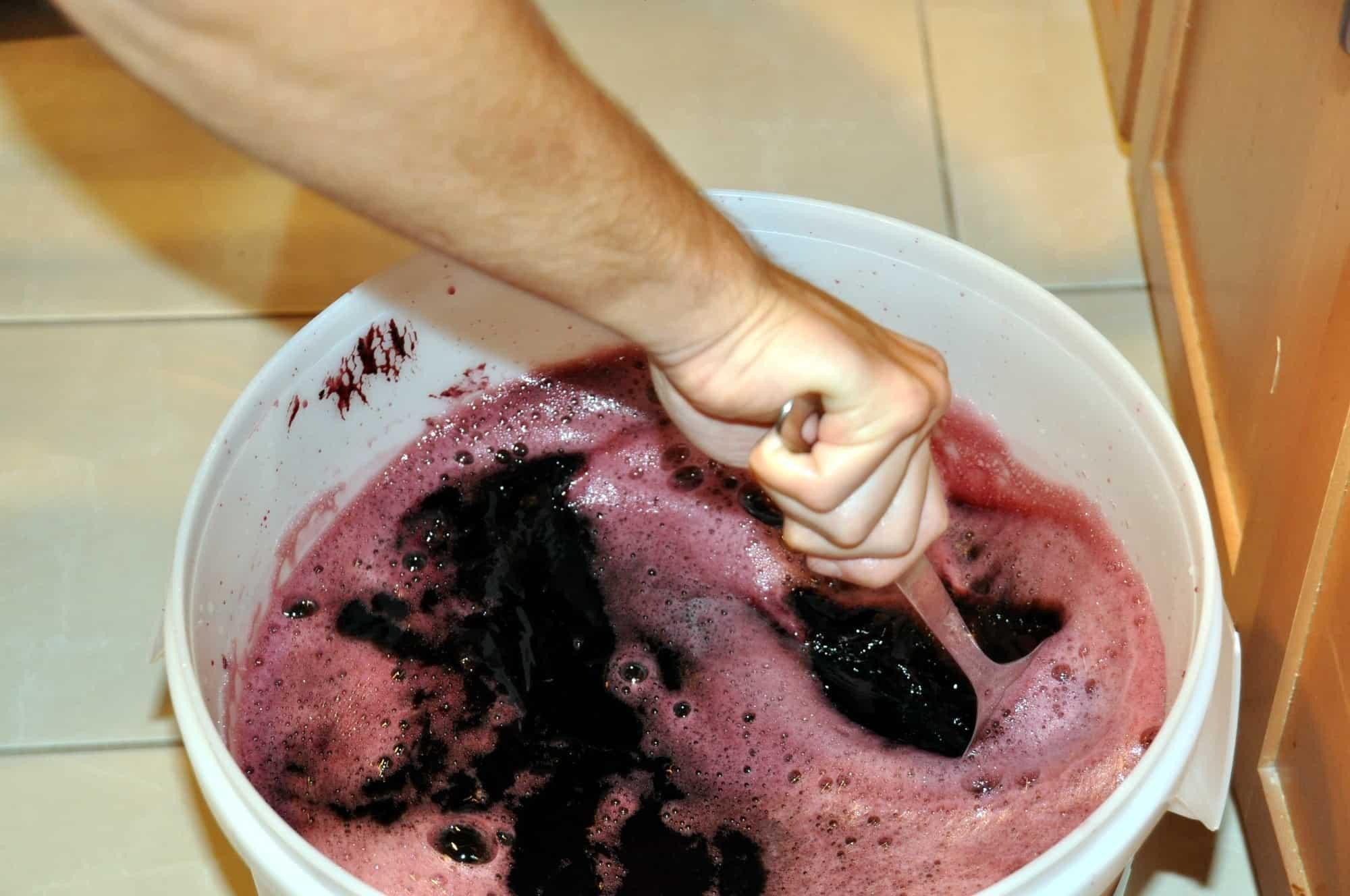 Stirring and Wine Making