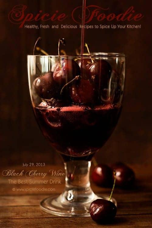 Black Cherry Wine Recipe