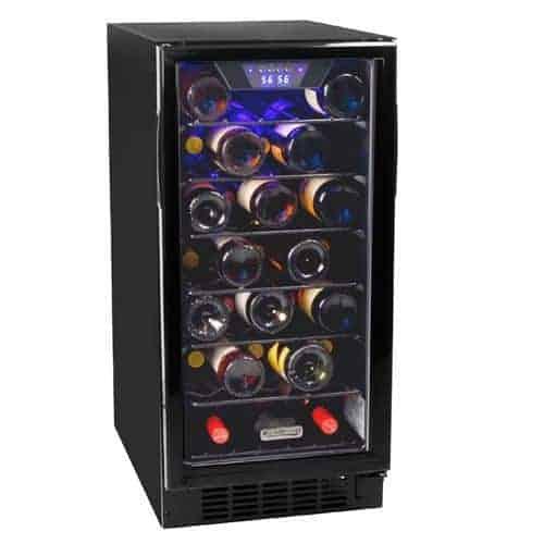 Koldfront Built-In Single Zone Wine Cooler