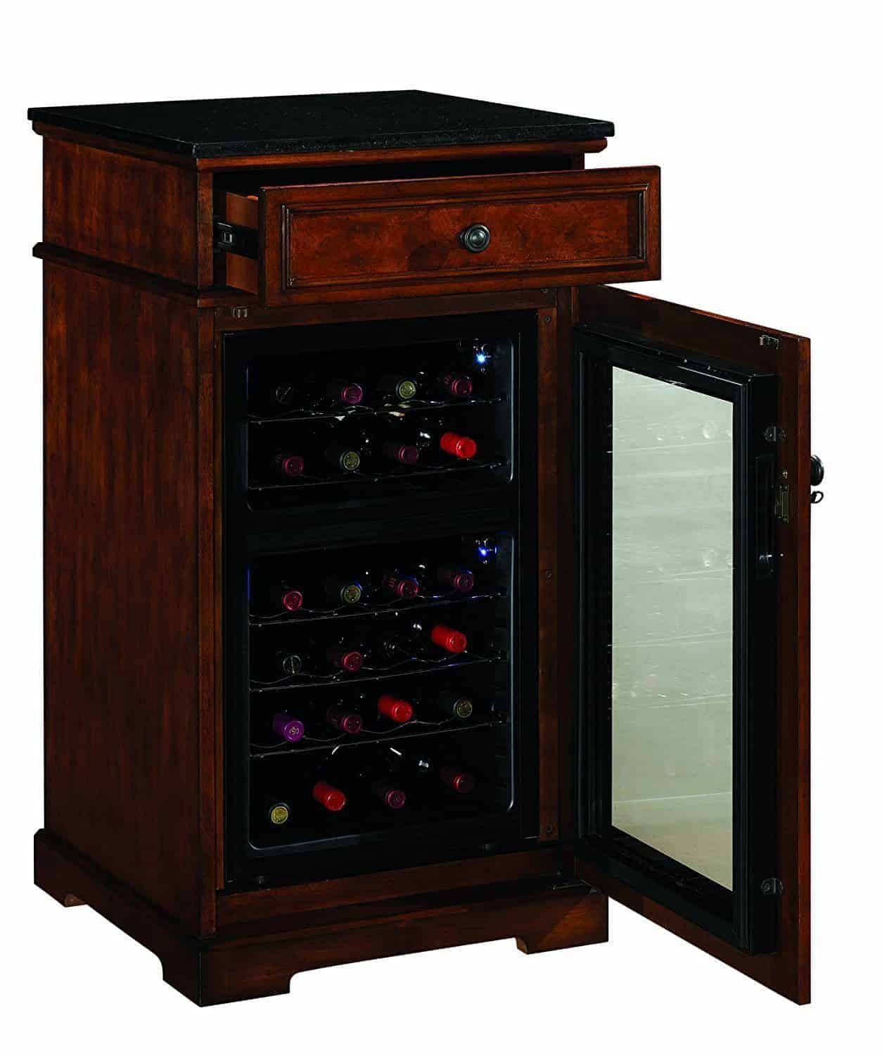 Madison Thermoelectric Wine Coolers in Rose Cherry
