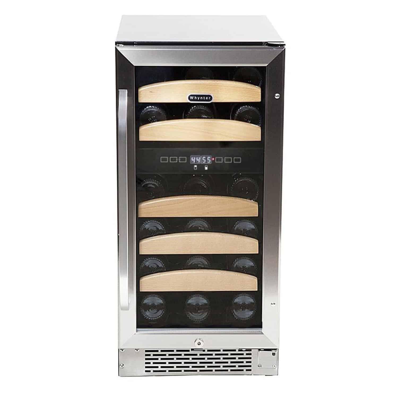 Whynter BWR-281DZ Dual Zone Built-In Wine Refrigerator