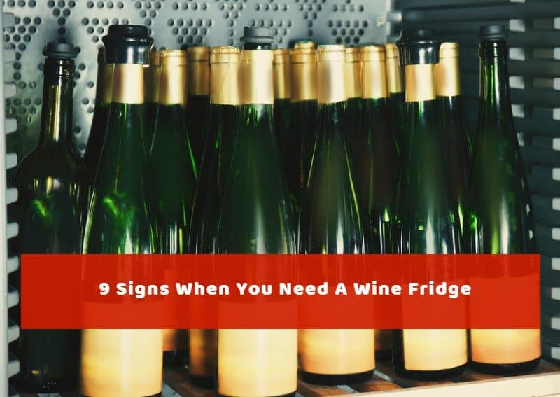 9 Signs When You Need A Wine Fridge