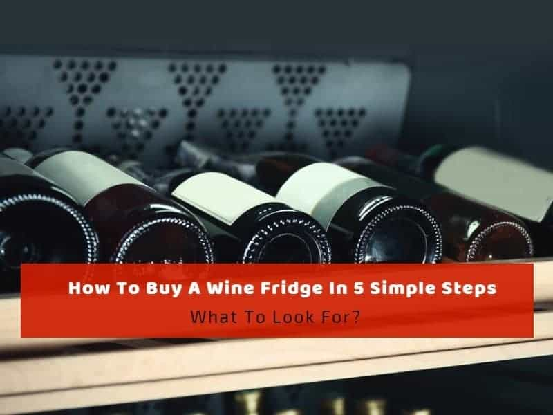 How To Buy A Wine Fridge In 5 Simple Steps: What To Look For?
