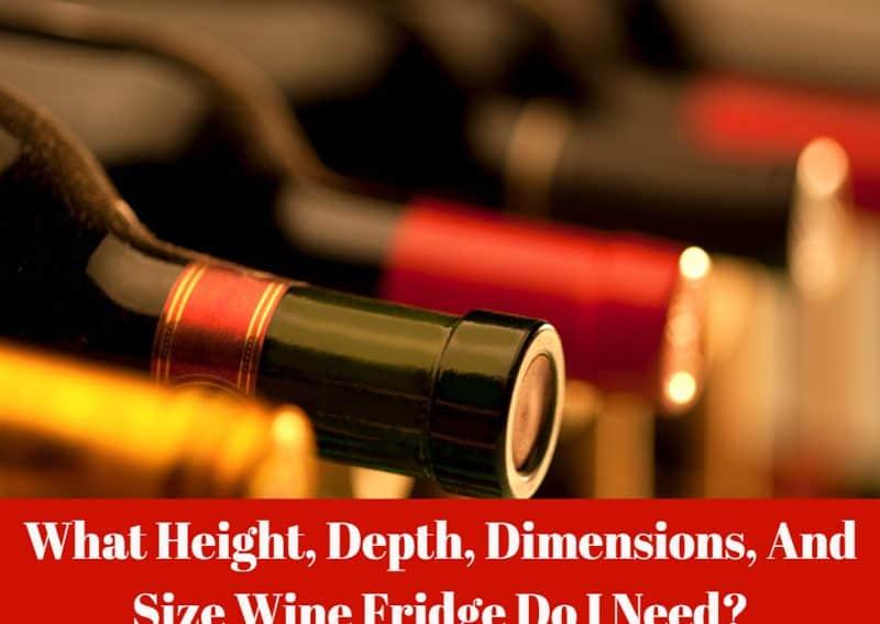 Wine Fridge Depth