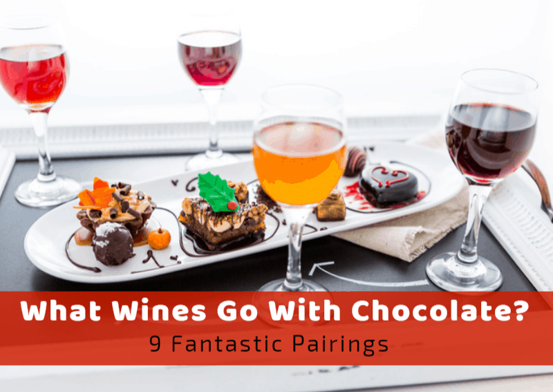 What Wines Go With Chocolate? 9 Fantastic Pairings