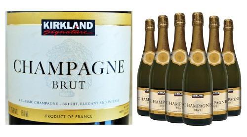 Kirklands costco champagne