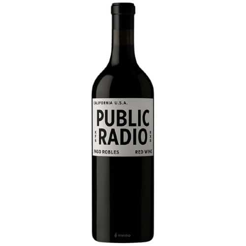 Grounded Wine Co. Public Radio Red Wine