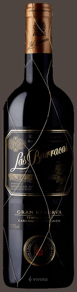 Las Barracas Gran Reserva Tempranillo Cabernet Sauvignon 2011 wine