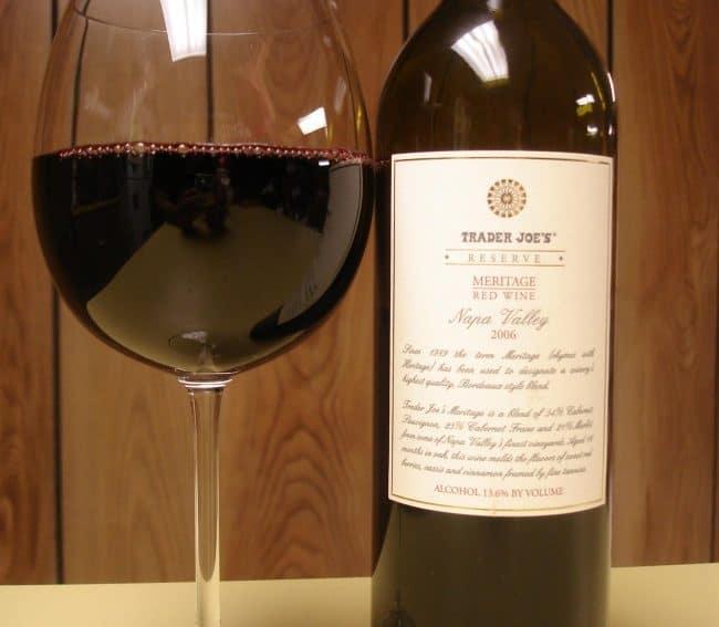 Meritage Red Wine