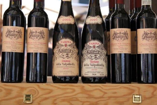 Valpolicella amarone and recioto