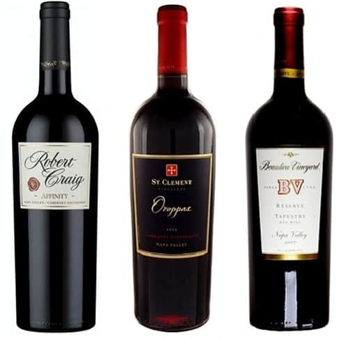 napa's best meritage wines