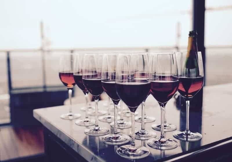 red blend wine